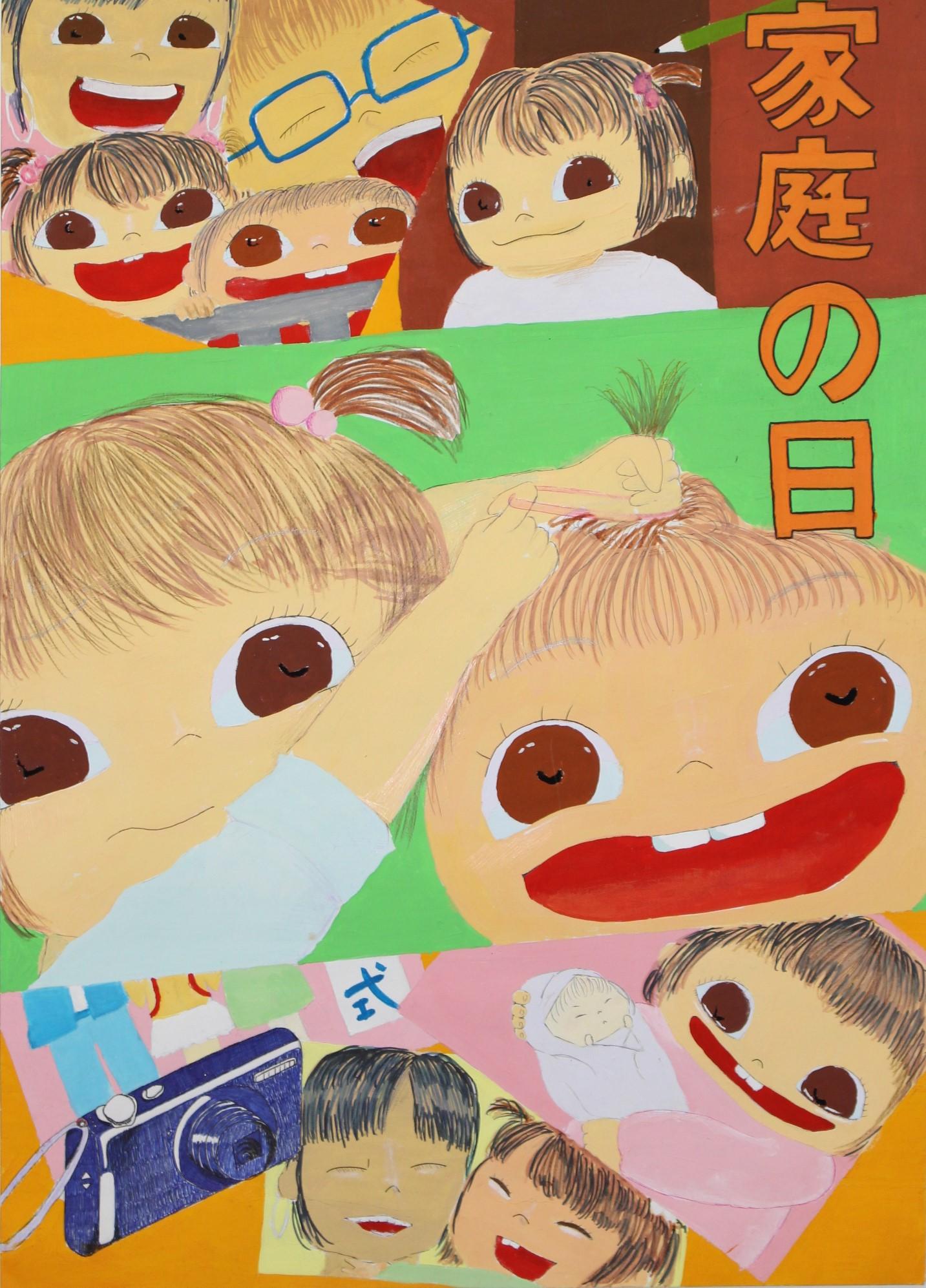 優良賞-宮崎学園高等学校 1年中島 実咲(なかじま みさき)さん