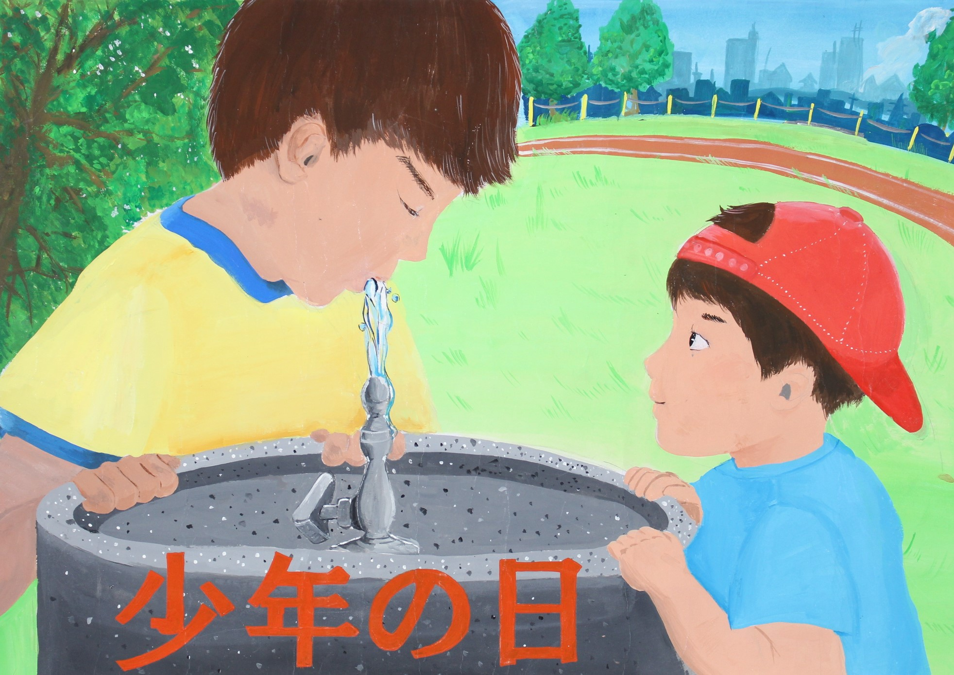 優秀賞-宮崎県立佐土原高等学校 2年 横山 雅姫(よこやま あい)さん